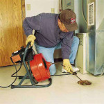 clogged drain plumber orange county
