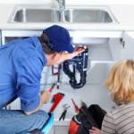 plumber clogged drain